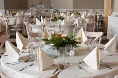 Organizacja wesel, bankietów i innych uroczystości.