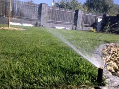 System automatycznego nawadniania ogrodów