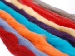 Barwienie włókien