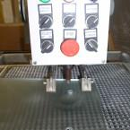 Wiercenie w szkle otworów wyznaczanych laserowo