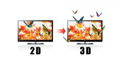 Obróbka materiału stereoskopowego 3D