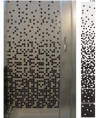 Wzory z mozaiki, przejścia tonalne mozaikowe