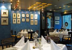 Restauracja biznesowa Blue Tower.