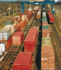 Transport kolejowy , transport lądowy , transport międzynarodowy , usługi logistyczne , spedycja lądowa