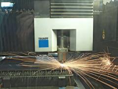 Obróbka metalu-laserowa i mechaniczna