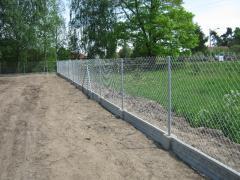 Montaż siatki ogrodzeniowej , panela, podmurówki