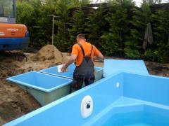 Montaż basenów kąpielowych od projektu po