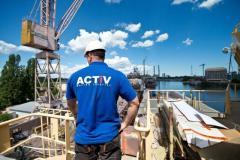 Prace remontowe, modernizacja lub przebudowy platform (offshore)