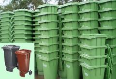 Pojemniki plastikowe 120 litrów, 240 litrów