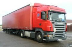 Transport ładunków krajowy i międzynarodowy