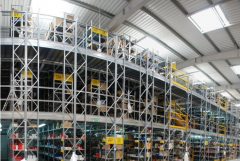 Complex rigging of warehouses