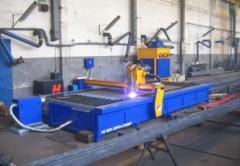 Cięcie blach na wycinarkach plazmowych CNC, krajalnia