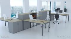 Wyposażenie biura Bielsko-Biała | Projekt, dostawa, montaż