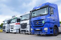 Transport drogowy, całopojazdowy oraz specjalistyczny.