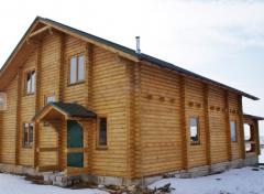 Winterizing log houses