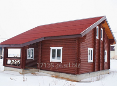 Budowa oraz remonty domów drewnianych - domów z bali.