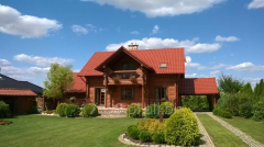 Repair, maintenance of log homes