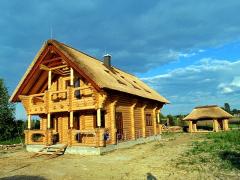 Pokrycia dachów z trzciny, dach strzechowy