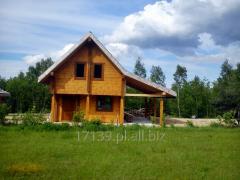 Solidne domy z bali na lata budowane wg. projektu klienta lub wg. dostępnych wzorów.