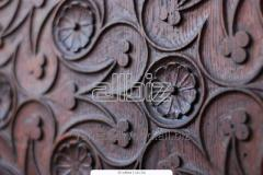 Engraving of wood