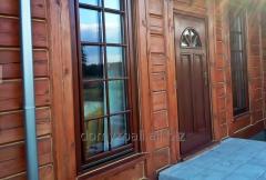 Renowacja, konserwacja i odnawianie domów z drewna i bali.