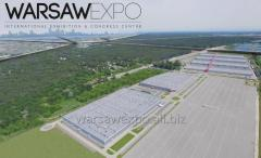 The exhibition Center Ptak Warsaw Expo is the