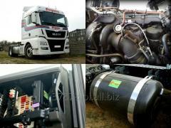 Montaż systemu wtrysku gazu w pojazdach z silnikami wysokoprężnymi.