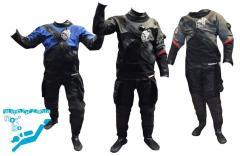 Wypożyczanie suchych skafandrów w rozmiarze: M, L lub XL