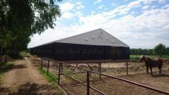 Produkowanie hale namiotowe dla bydła