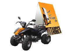 Reklama quad mobil