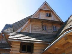 Widok domu od strony północnej