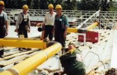 Budowa gazociągów