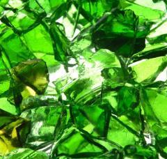 Recykling szkła kolorowego