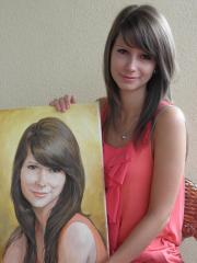 Portret olejny ze zdjęcia na zamówienie
