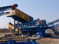 Budowa kompletnych linii technologicznych do przetwórstwa kruszyw mineralnych.