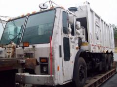 Odbiór i transport odpadów