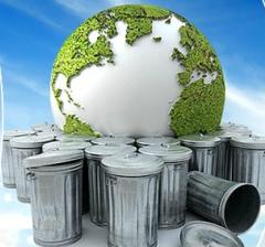 Utylizacja, recykling i przetwarzanie odpadów.