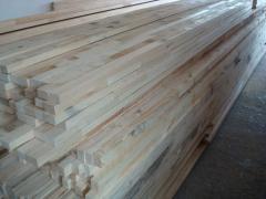Drewno konstrukcyjne- elementy drewniane- łączone na grubość