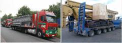 Transportowanie ładunków ponadgabarytowych