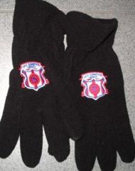 Haft na rękawiczkach