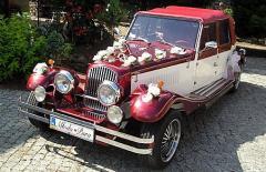 Usługi ślubne - wypożyczalnia samochodów na śluby