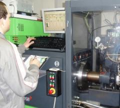 Badania pomp wtryskowych