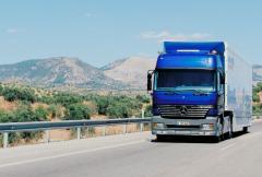 Usługi transportu samochodowego