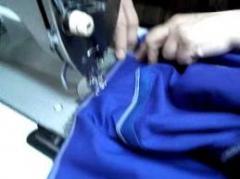 Szycie odzieży roboczej