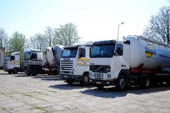 Międzynarodowy transport ładunków.