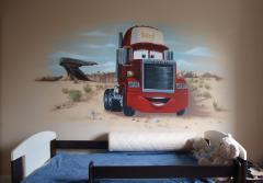 Artystyczne malowanie wnętrz, murale
