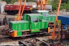 Naprawa lokomotyw spalinowych.