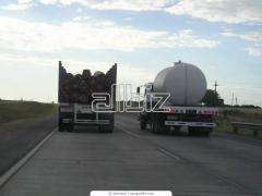 Transport samochodowy ciężarowy