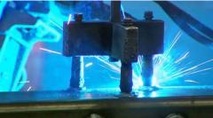 Cięcie gazowe blach grubych ze stali czarnej