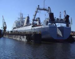 Remonty jednostek pływających